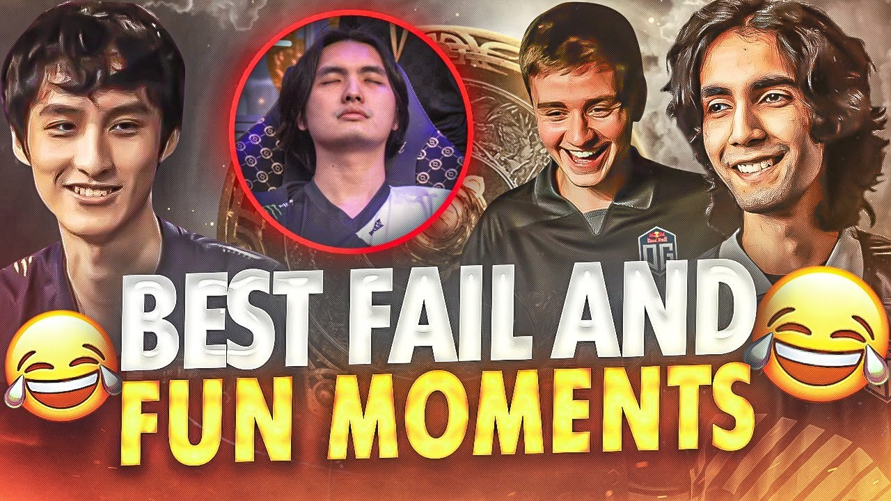 BEST FAIL and FUN Moments of TI10 The International 10  Dota 2