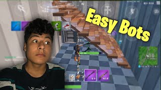 How To Get Into Bot Lobbies On Fortnite Mobile !!