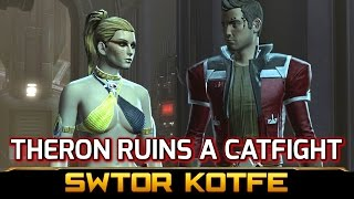 SWTOR KOTFE ► Theron Ruins a Catfight between Kaliyo & Female Inquisitor (Chapter 10)