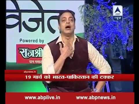Blasting Reply of Shoaib Akhtar to Singer of Mauka Mauka