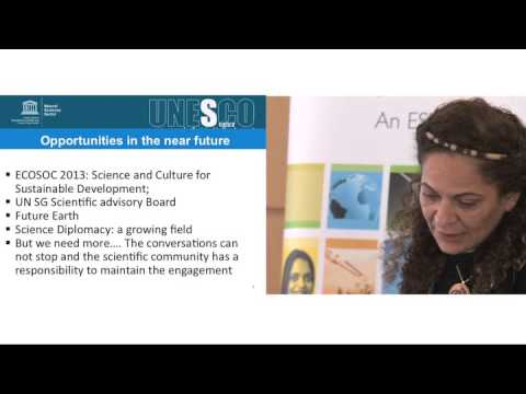 Prof Lidia Brito: Beyond Rio+20: improving global structures for scientific advice