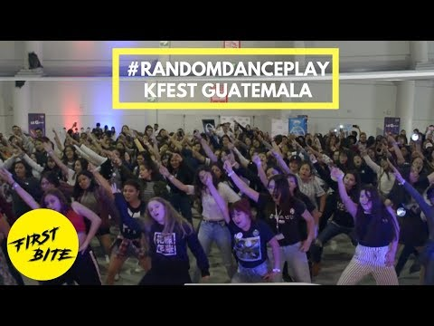 Kfest Guatemala 45 K-pop Dances in 30 minutes Chorus Dance Game
