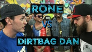 BOTZ2 - Rap Battle - Dirtbag Dan vs Rone
