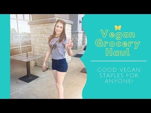 Vegan Grocery Haul! Yummy Vegan Food