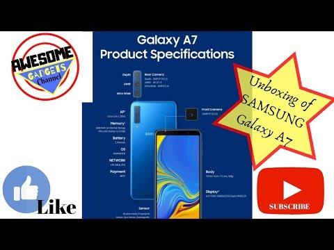 Unboxing Samsung Galaxy A7(2018). #A7 #Samsung #Galaxy #Unboxing #Flipkart.
