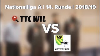 Nationalliga A 14. Runde 201819 TTC Wil vs. CTT Veyrier