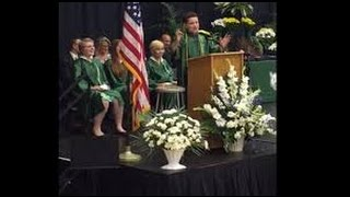 8th Grader Graduation Speech (FULL) Impersonates Presidential Candidates