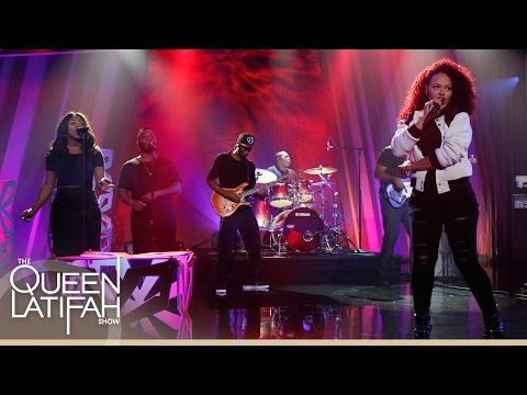 Elle Varner Peforms on The Queen Latifah Show