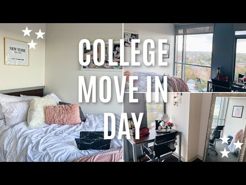 COLLEGE MOVE IN DAY VLOG | Drexel University