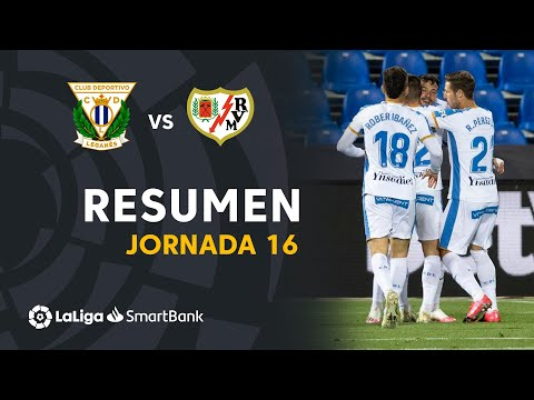 Leganes Vallecano Goals And Highlights