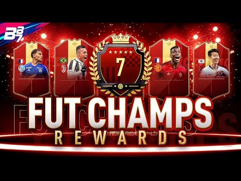 7TH IN THE WORLD FUT CHAMPIONS REWARDS! ICON IN A PACK! | FIFA 19 ULTIMATE TEAM
