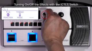 GT-1B Quick Start chapter6 : Setting for CTL1 Pedal