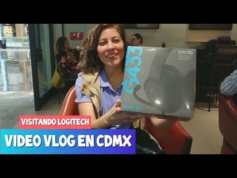 Vlog en CDMX - Visitando las Oficinas de Logitech