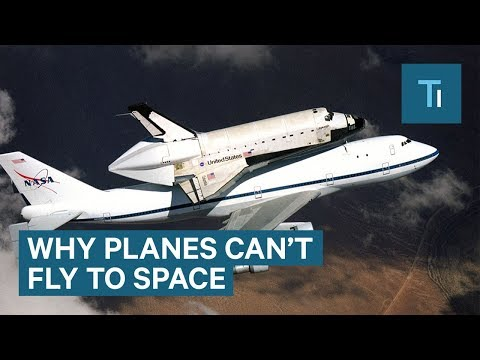 Why you can't fly a plane to space