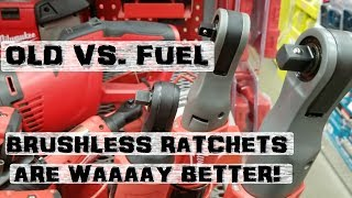 BOLTR: Milwaukee Ratchets Brushed vs. Fuel