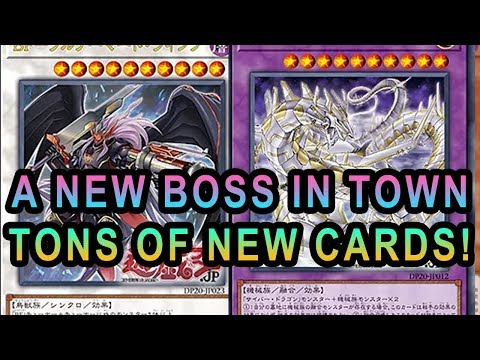 NEW BOSS BLACKWING! NEW CYBER DRAGON! NEW PHOTON, NEW FRIGHTFUR, PREDAPLANT! + MORE NEW CARDS