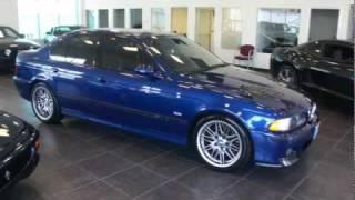 Bmw E39 M5 Sale Avus Blue Dinan Stage Carbon Fiber Hood Splitters Eisenmann Sold