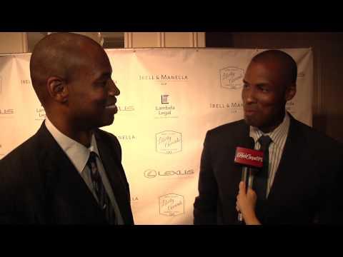 Jason and Jarron Collins at 2014 Lambda Legal Awards