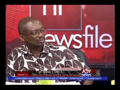 Dr.Mensah Otabil's Speech - Newsfile on Joy News (16-8-14)