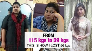 My Weight Loss Transformation How I lost 56 kgs  Fat to Fit  Fit Tak