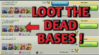 Loot dead bases on each click !