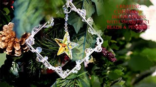 Creating Christmas Decorations With Swarovski Beads & Pendents