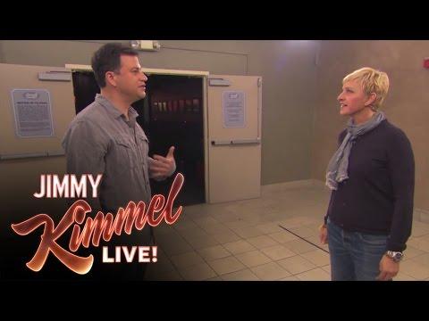 Jimmy Kimmel vs Ellen DeGeneres Nice Off