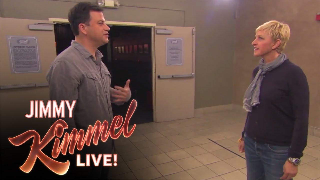 Jimmy Kimmel nice off