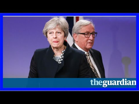 Theresa may left red-faced as dup scuppers brexit deal