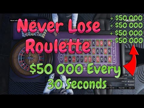 GTA 5 ONLINE UNLIMITED CHIPS GLITCH - ALWAYS WIN ROULETTE | WORKING ON ALL CONSOLES