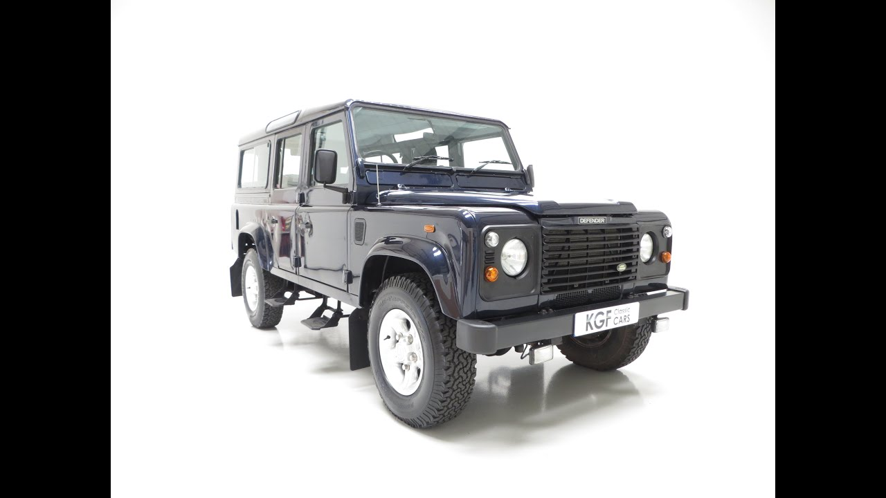 an all conquering land rover defender 110 county td5 with. Black Bedroom Furniture Sets. Home Design Ideas
