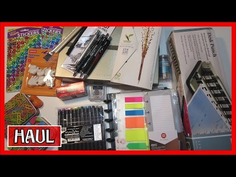 ART SUPPLIES & STATIONERY HAUL | LEVENGER CIRCA & ARC SYSTEM
