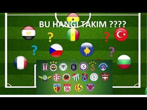 Süper Lig Takım Bulmacası – Ülkelerden Takım Bulmaca