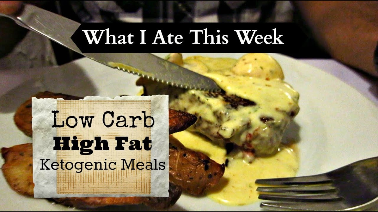 LOW CARB ATKINS & KETOGENIC MEALS - What I Ate This Week! - YouTube