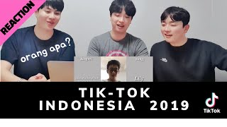 [Reaksi] Lagu Lagu TikTok Terhits 2019 | TikTok Indonesia - Orang Korea