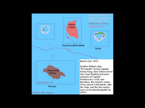 History of the Pitcairn Islands