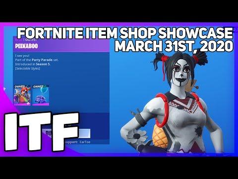 Fortnite Item Shop *NEW* CLOWN EDIT STYLES! [March 31st, 2020] (Fortnite Battle Royale)