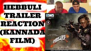 Hebbuli Trailer Reaction I ಹೆಬ್ಬುಲಿ I