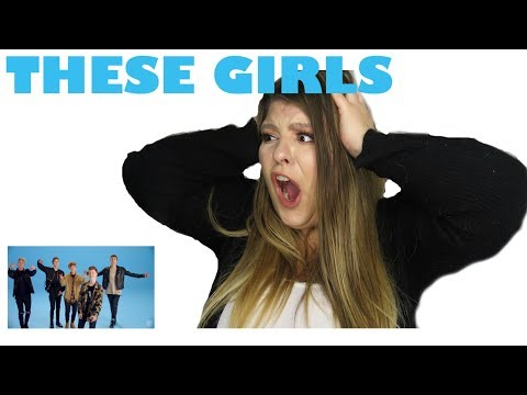 WHY DONT WE THESE GIRLS  OFFICIAL MUSIC VIDEO REACTION