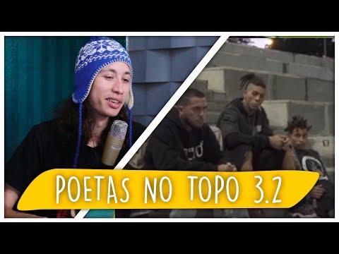 REACT Poetas no o 3.2 - Raillow  Xamã  LK  Choice  Leal  Síntese  Ghetto  Lord