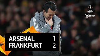 Arsenal vs Frankfurt (1-2)   UEFA Europa League Highlights