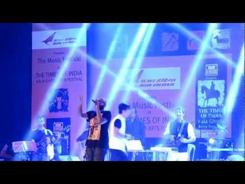 Afreen  Benny Dayal, Salim Merchant at Kala Ghoda