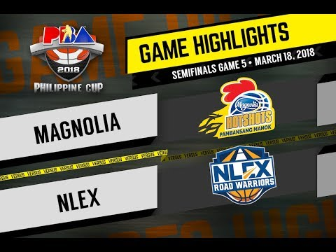 PBA Philippine Cup 2018 Highlights: NLEX vs Magnolia Mar. 18, 2018