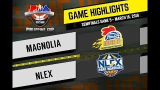 PBA Philippine Cup 2018 Highlights: NLEX vs Magnolia Mar. 18, 2018