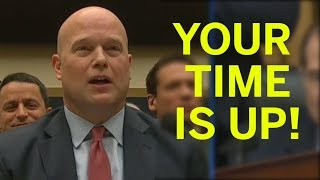Whitaker Calls Time On Dem Chairman