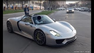 Best of Supercars in Vienna 2017 + Sounds