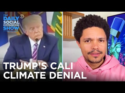 Trump's Cali Climate Denial & Venus's Signs Of Life | The Daily Social Distancing Show