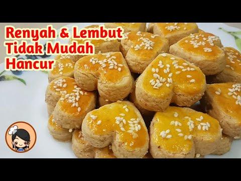 Resep Kue Kering: Resep Sagu Keju ala Fatmah Bahalwan dari NCC, Enak Banget 00:01- Intro 01:29- Bahan-bahan kue sagu....