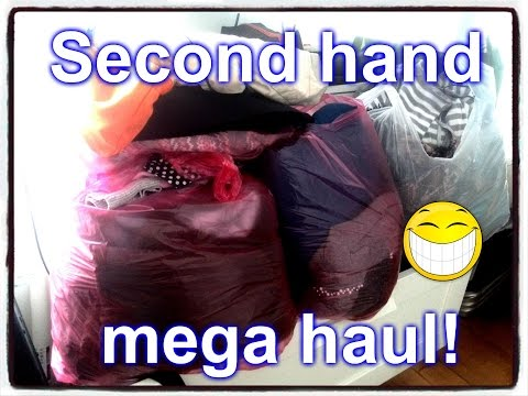 2x Second hand mega Haul  Textile House a Brandýs :-)