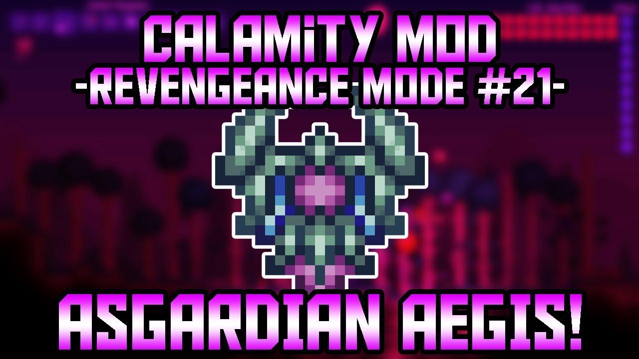 The Devourer of Gods! Terraria Calamity Mod Revengeance Mode